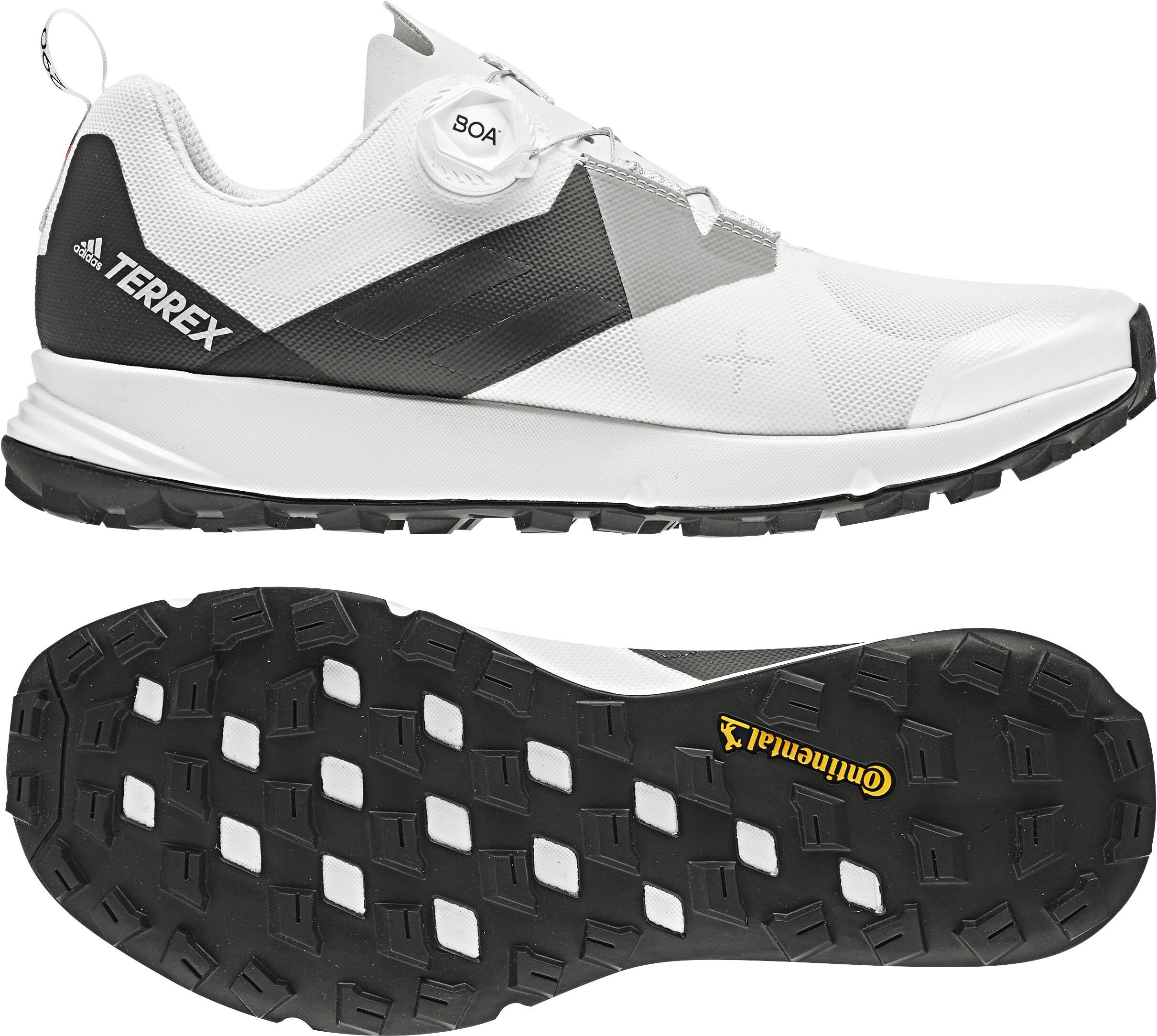 sports shoes 5b993 b11cc adidas TERREX Two Boa scarpe da corsa Uomo bianconero